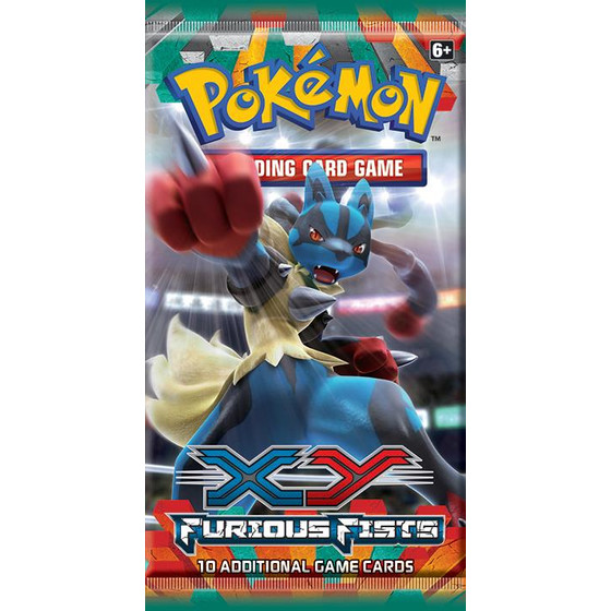 XY3 Furious Fists Booster