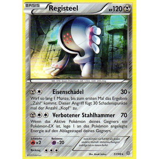 Registeel - 51/98 - Reverse Holo