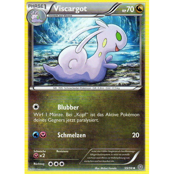 Viscargot - 59/98 - Reverse Holo