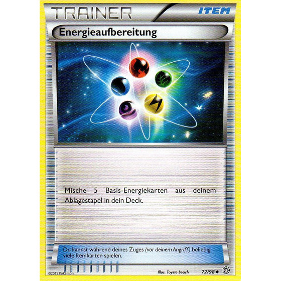 Energieaufbereitung - 72/98 - Reverse Holo