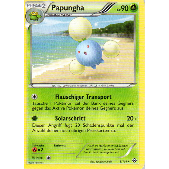 Papungha - 5/114 - Reverse Holo