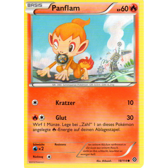 Panflam - 18/114 - Reverse Holo