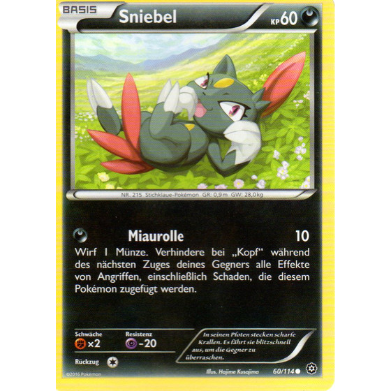 Sniebel - 60/114 - Reverse Holo