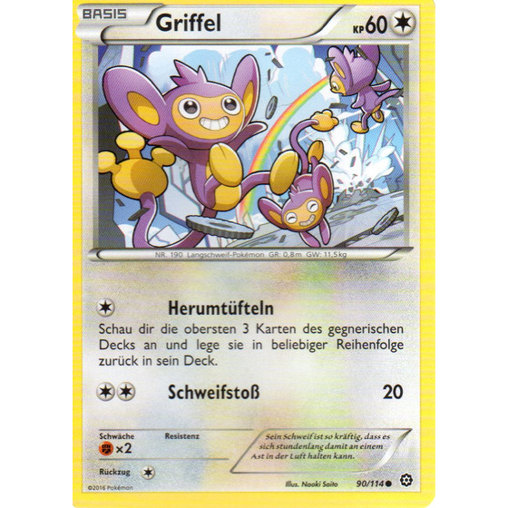 Griffel - 90/114 - Reverse Holo
