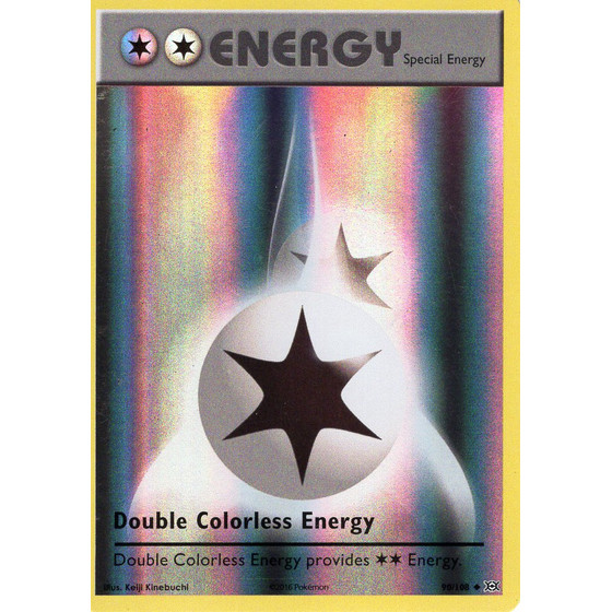 Double Colorless Energy - 90/108 - Reverse Holo