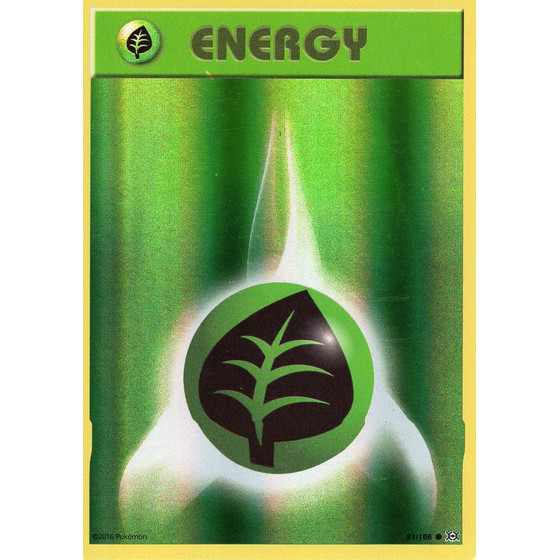 Grass Energy - 91/108 - Reverse Holo