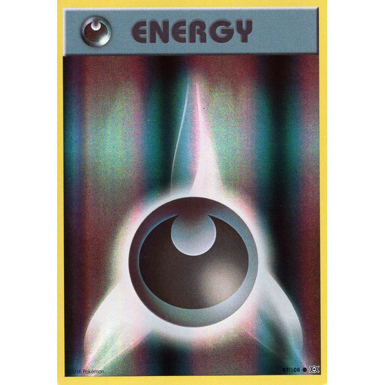 Darkness Energy - 97/108 - Reverse Holo