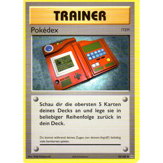 Pokedex - 82/108 - Reverse Holo