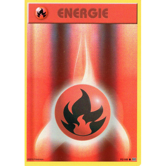 Feuer-Energie - 92/108 - Reverse Holo