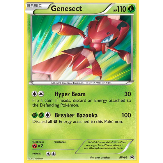 Genesect - BW99 - Promo