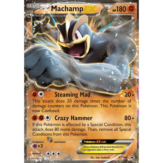 Machamp-EX - XY108 - Promo