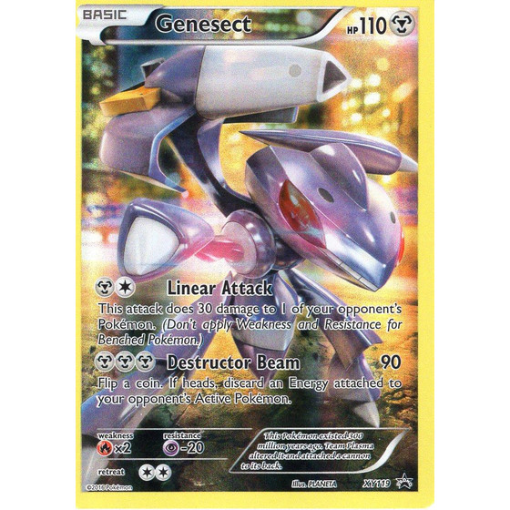 Genesect - XY119 - Promo