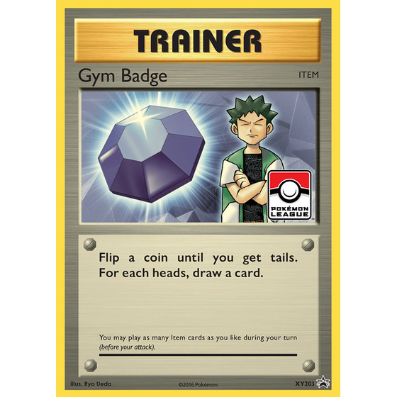 Gym Badge - XY203 - Promo