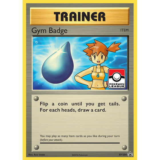 Gym Badge - XY204 - Promo