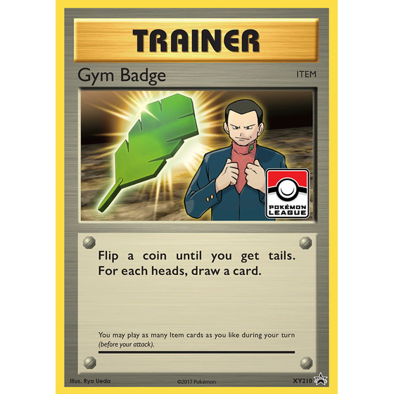 Gym Badge - XY210 - Promo