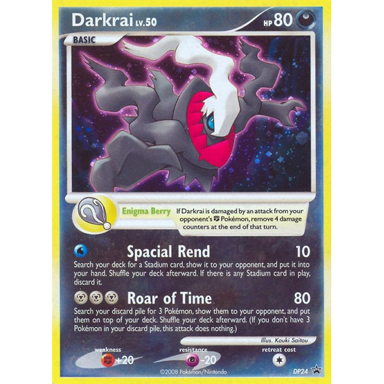Darkrai - DP24 - Promo