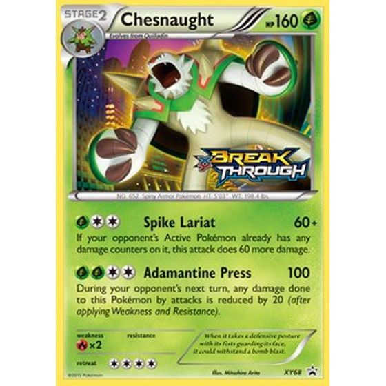 Chesnaught - XY68 - Promo