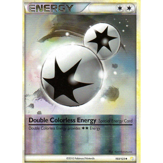 Double Colorless Energy - 103/123 - Reverse Holo - Good