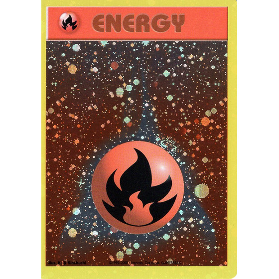 Fire Energy - Base Set - Holo