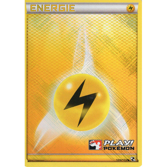 Lightning Energy - Black & White - Holo