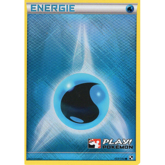 Water Energy - Black & White - Holo