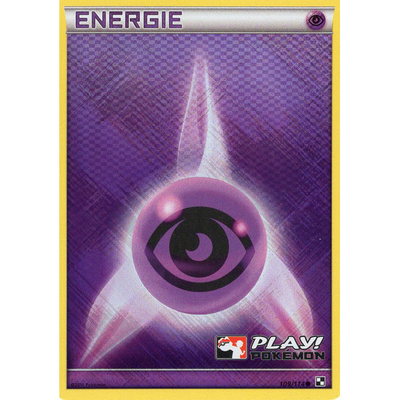 Psychic Energy - Black & White - Holo