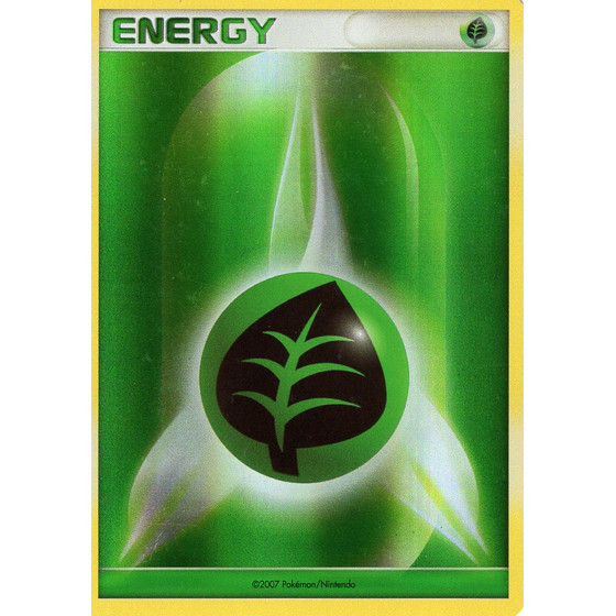 Grass Energy - Diamond & Pearl - Holo
