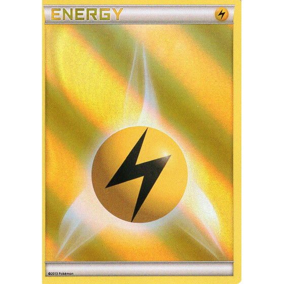 Lightning Energy - Battle Arena Deck - Holo