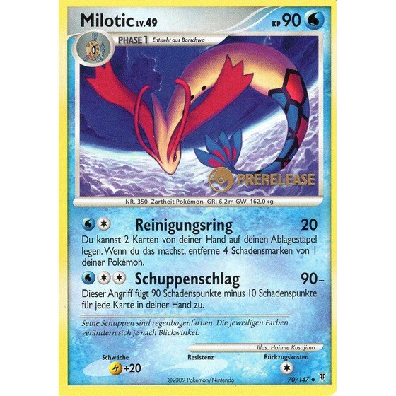 Milotic - 70/147 Ultimative Sieger Prerelease - Promo