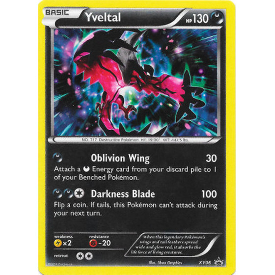 Yveltal - XY06 - Promo - Good