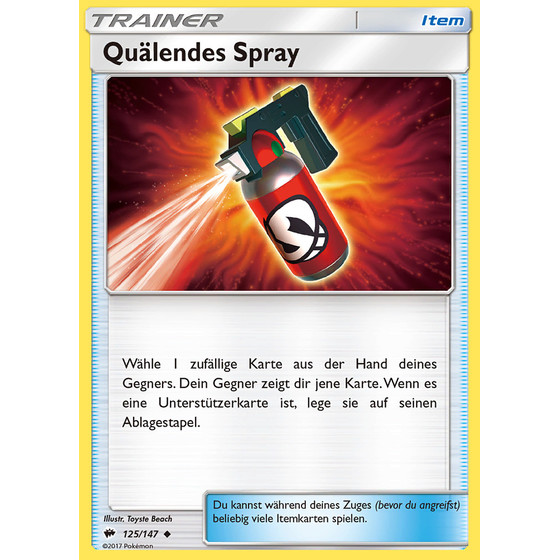 Quälendes Spray - 125/147 - Uncommon