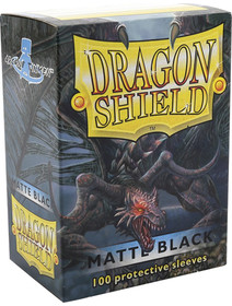 Dragon Shield Matte Black - 100 Sleeves