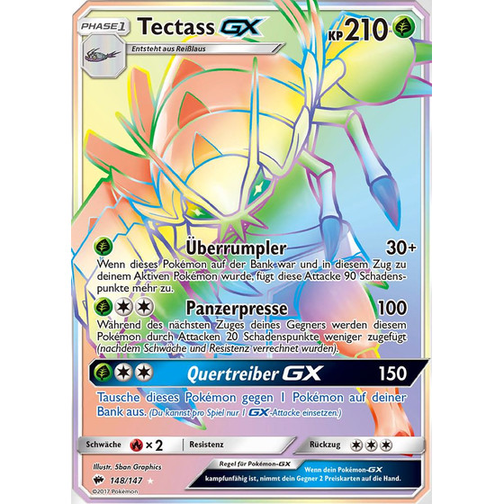 Tectass-GX - 148/147 - Shiny