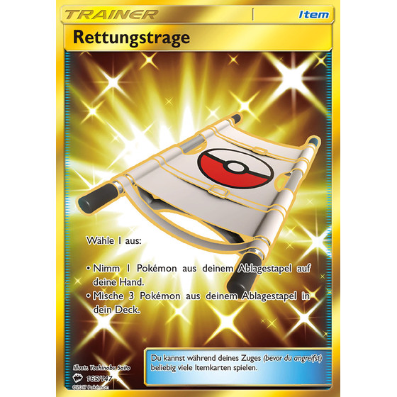 Rettungstrage - 165/147 - Shiny