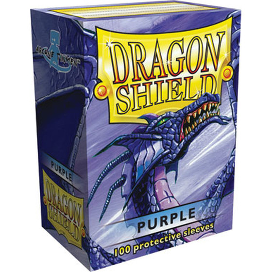 Dragon Shield Purple - 100 Sleeves