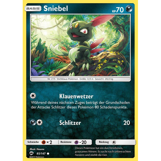 Sniebel - 85/147 - Reverse Holo