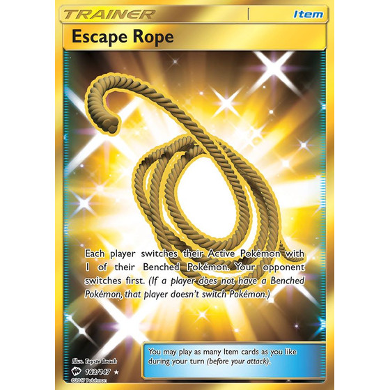 Escape Rope - 163/147 - Shiny