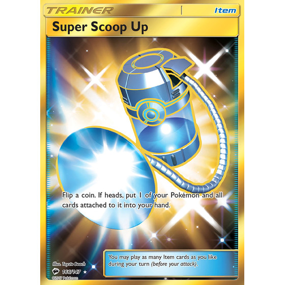 Super Scoop Up - 166/147 - Shiny
