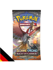 Sonne & Mond: Nacht in Flammen Booster Deutsch