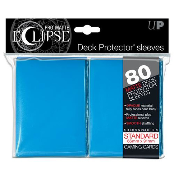 Ultra Pro Eclipse Pro Matte Light Blue - 80 Sleeves