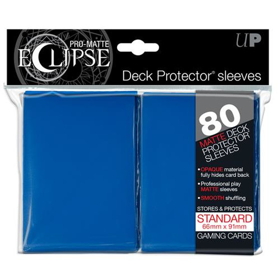 Ultra Pro Eclipse Pro Matte Blue - 80 Sleeves