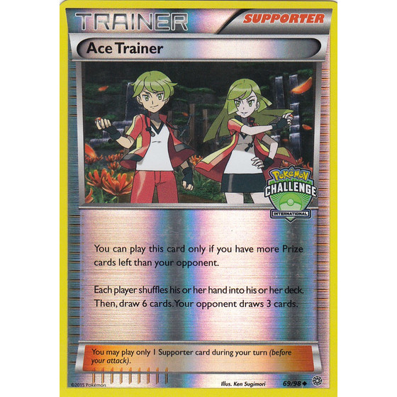 Ace Trainer - 69/98 International Promo - Holo