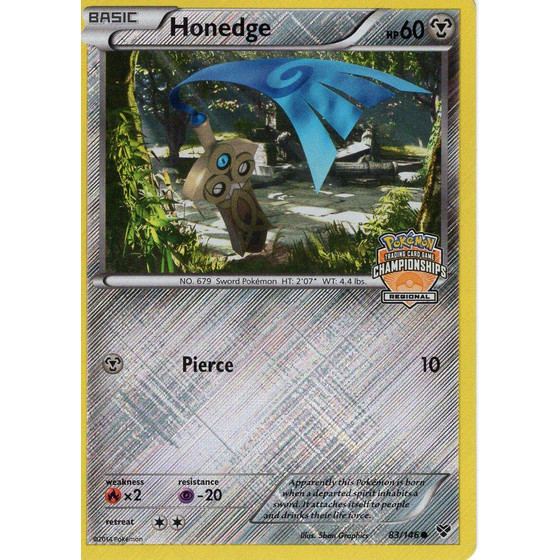 Honedge - 83/146 Regional Promo - Holo