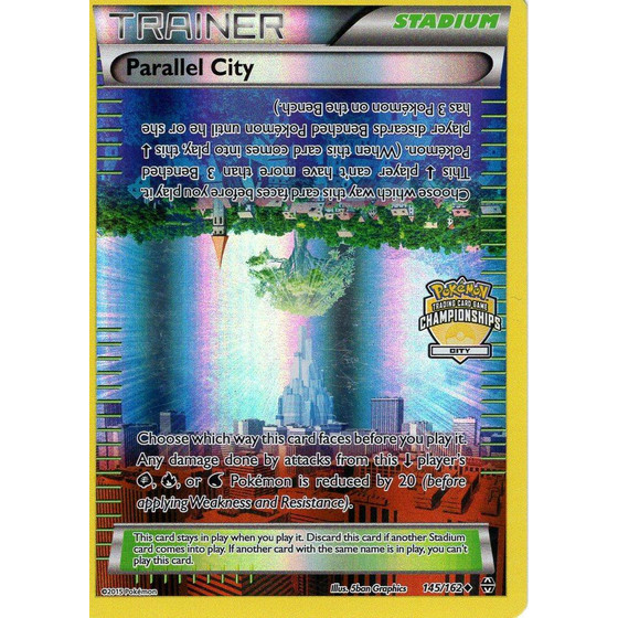 Parallel City - 145/162 City Championships Promo - Holo