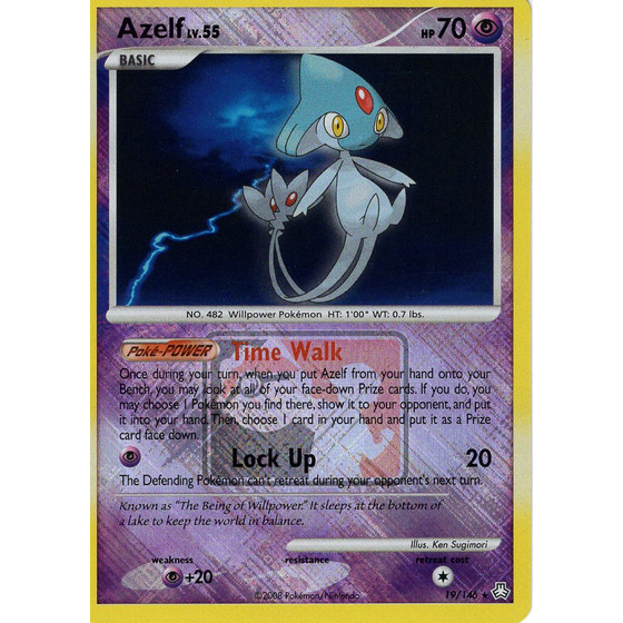 Azelf - 19/146 League Promo - Holo