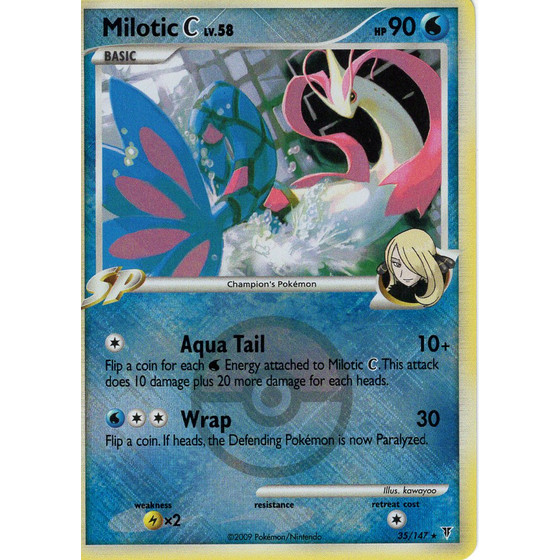Milotic C - 35/147 League Promo - Holo