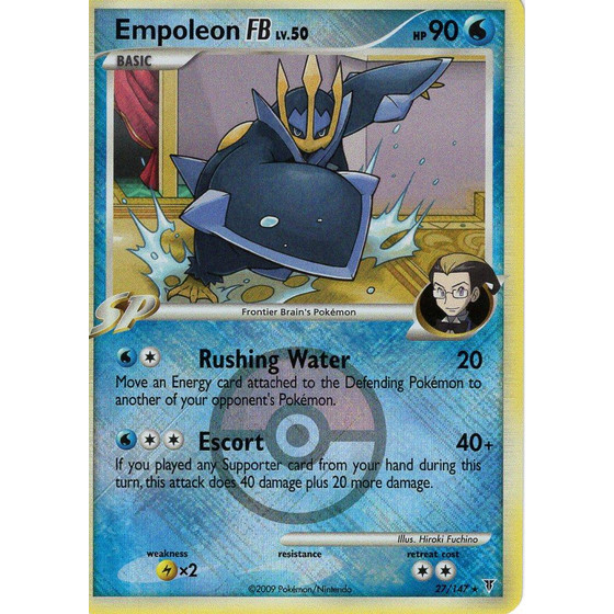 Empoleon FB - 27/147 League Promo - Holo