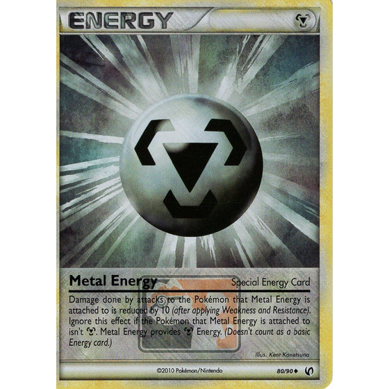 Metal Energy - 80/90 League Promo - Holo
