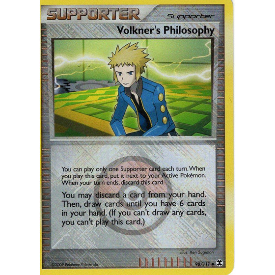 Volkners Philosophy - 98/111 League Promo - Holo