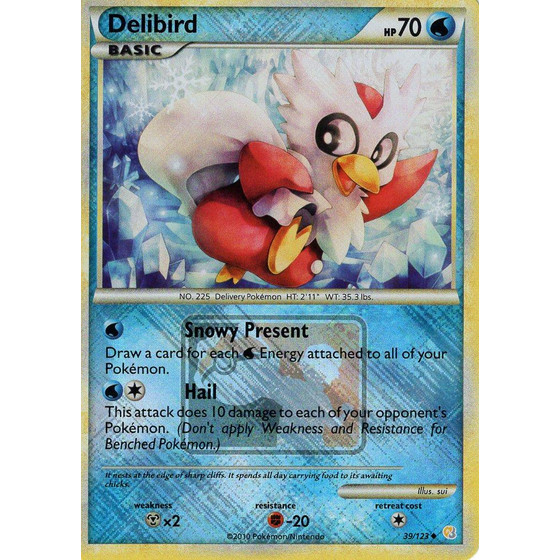 Delibird - 39/123 League Promo - Holo